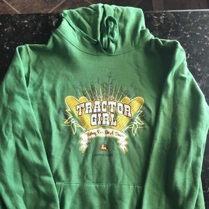 John Deere Hooded Sweatshirt